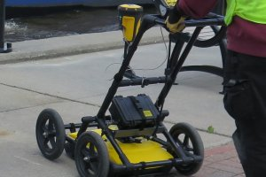 Ground penetrating radar (low frequency)